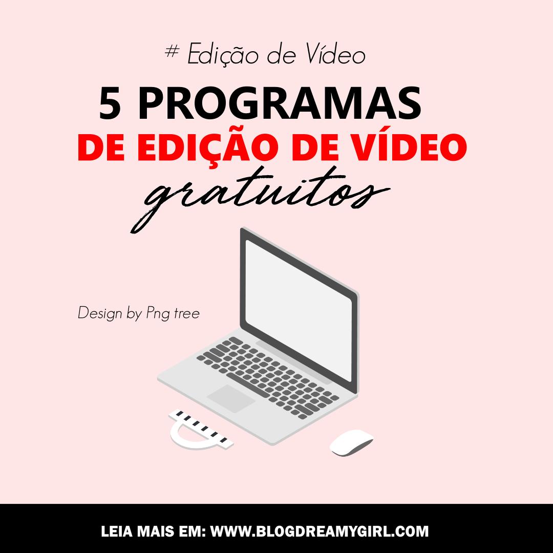 Programas de edição de vídeos