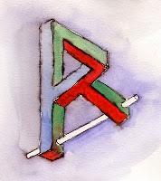 R harfi paradoksu