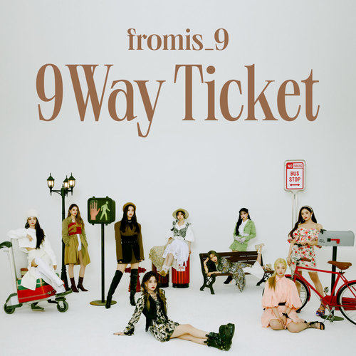 fromis_9 – 9 WAY TICKET – Single