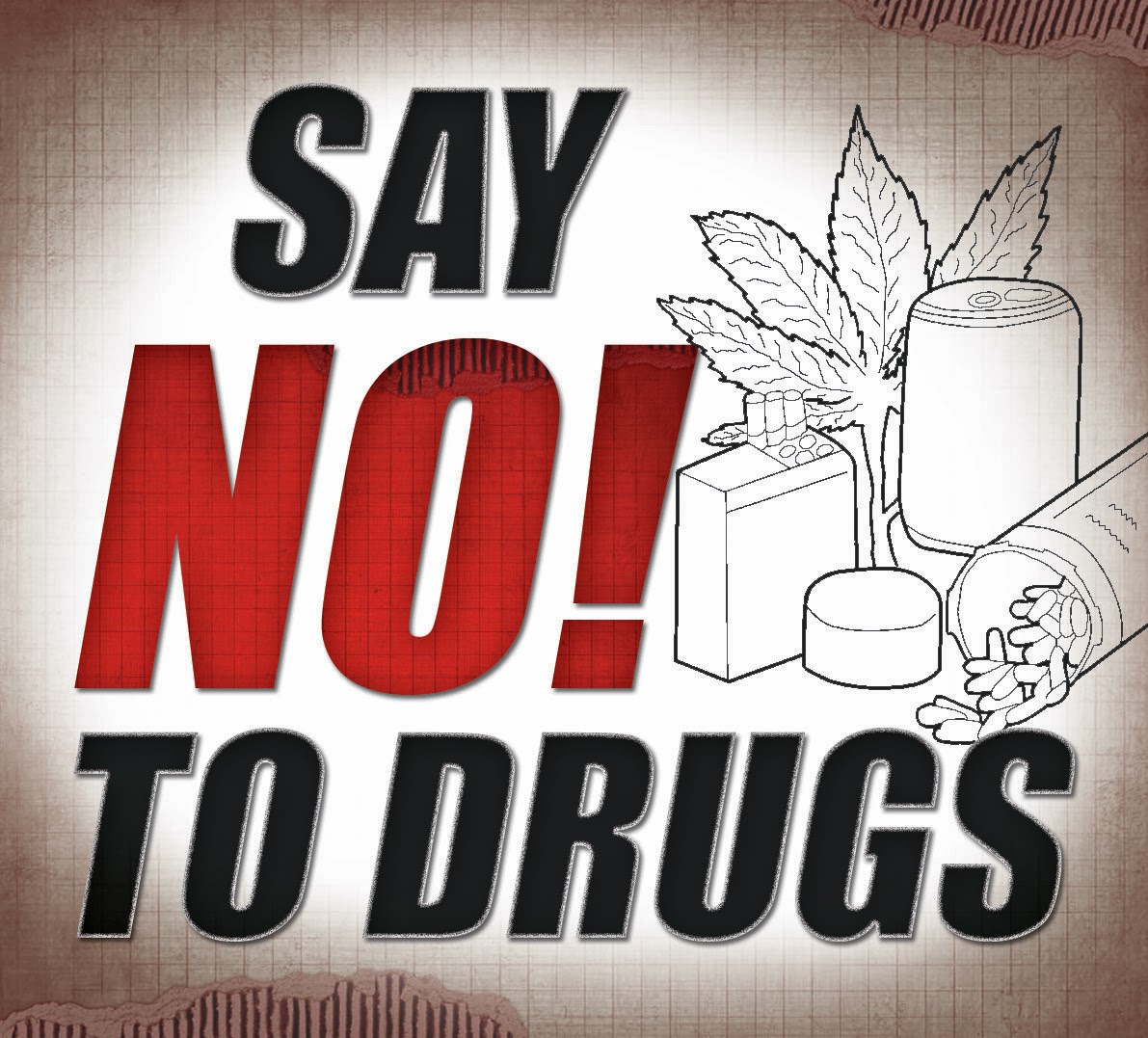 Gambar Ilustrasi Stop Narkoba Gambar Ilustrasi Bahaya Narkoba Hilustrasi