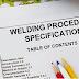 Welding procedure specification part 2
