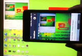 تحميل برنامج DroidCam تشغيل كاميرا الموبايل على الكمبيوتر
