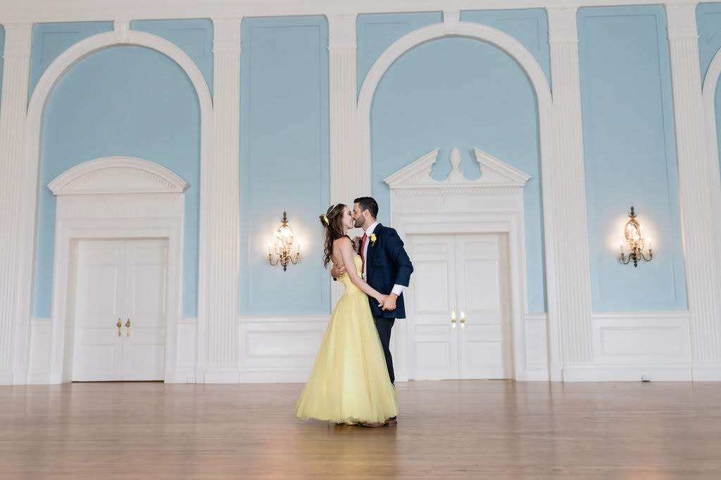 beauty and the beast wedding dance
