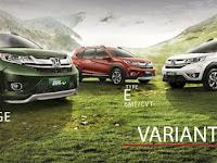 Perbedaan Harga dan Tipe Honda BR-V S,E dan Prestige