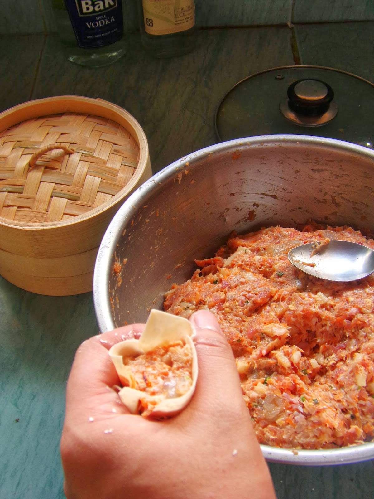 dumplings from scratch, easy dumplings