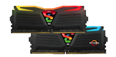 Overclock Ram DDR4 Geil Super Luce AMD Edition 3000Mhz di A320M