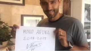 Συνεχίζει ο Αρχηγός Morais «MONO APOEL»