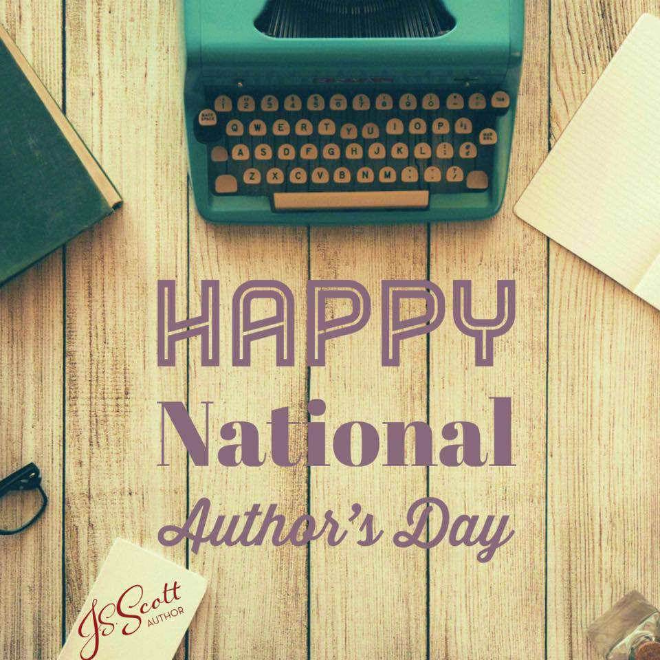National Author's Day Wishes Photos