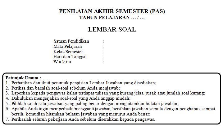 Soal Pas Uas Prakarya Pkwu Kelas 12 Semester 1 Kurikulum 2013 Tahun 2019 Informasi Data Pendidikan
