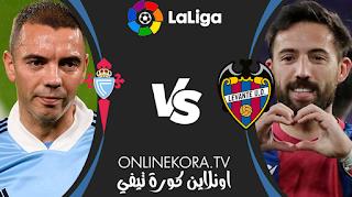 مشاهدة مباراة سيلتا فيغو وليفانتي بث مباشر اليوم 30-04-2021 في الدوري الإسباني الدرجة الأولى