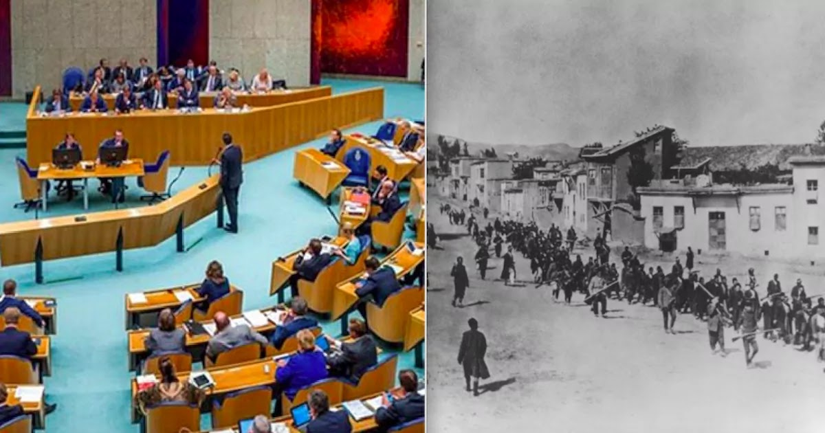 Dutch Parliament Officially Recognises The Genocide Of Armenians, Greeks And Syriacs By The Ottoman Empire