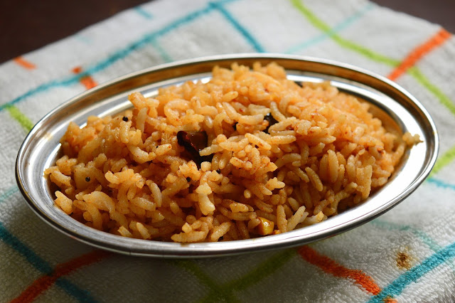 Tamarind Rice | Lunch Box Recipe