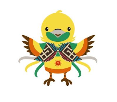 maskot asian games 2018, Bhin Bhin