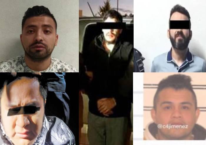 """Estos son los líderes de """"La Unión"""" que operaban en la CDMX y ahora han terminado en la cárcel, su legado no a termina en las rejas"""