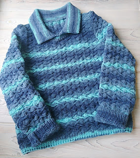пуловер спицами на мальчика