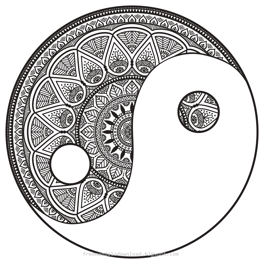 Mandala: Bunte Therapiemethoden - Free Mandala