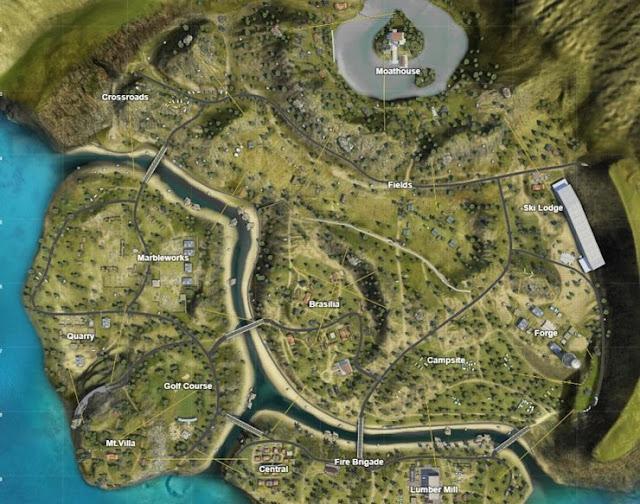 خريطة المطهرPurgatory في فري فاير