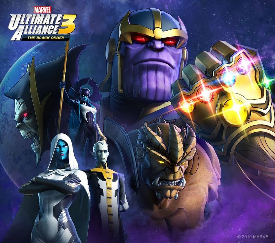 marvel ultimate alliance 3 thanos the black order team ninja nintendo switch