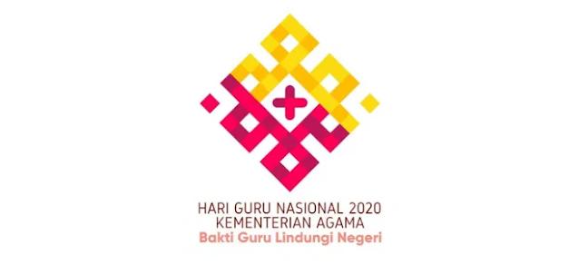 Download Logo Hari Guru Nasional (HGN) Tahun 2020 Kementerian Agama