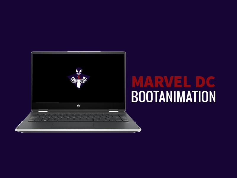 Marvel DC Bootanimation