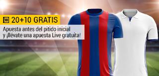 bwin promocion 10 euros Real Madrid vs Barcelona 30 julio