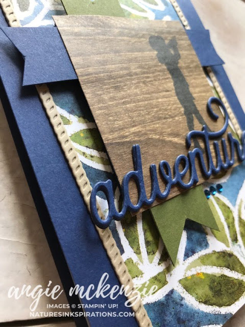 Stampin' Dreams Blog Hop - All About the Boys - June 2019   See A Silhouette Bundle, Smooth Sailing Dies by Stampin' Up!®   Nature's INKspirations by Angie McKenzie