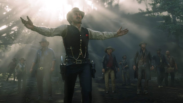 الكشف عن ثيم ديناميكي حصري للعبة Red Dead Redemption 2على جهاز PS4، إليكم رابط التحميل من هنا ..
