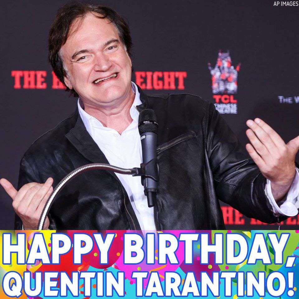 Quentin Tarantino's Birthday Wishes For Facebook