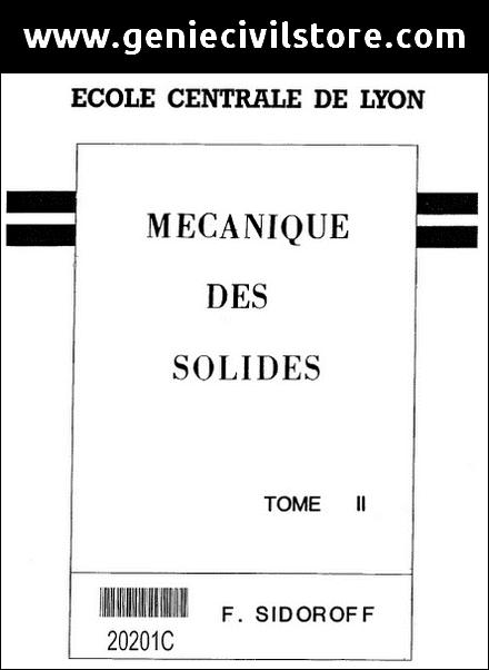 Livre Mécanique des Solides