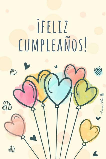 imágenes de feliz cumpleaños con globos