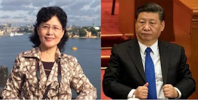 Chinese Communist Party is a threat to the world says xi jinping former elite insider Cai Xia