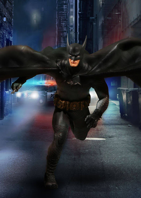 osw.zone Best: Mezco Toys One: 12 Collective (1 / 12th Scale) Batman: Ascending Knight Action Figure
