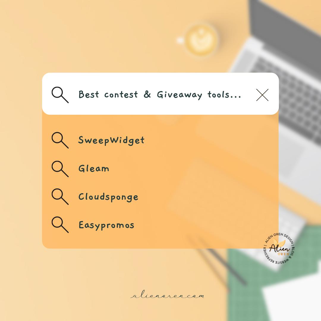 aplikasi yang paling sesuai untuk anjurkan contest dan giveaway