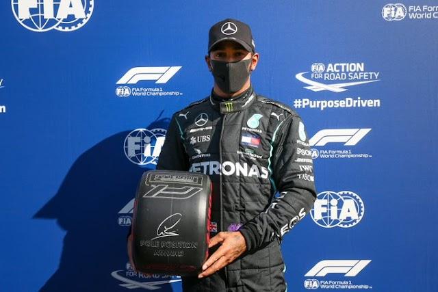 F1. Gp de la Toscana. Qualy. Lewis siempre Lewis.