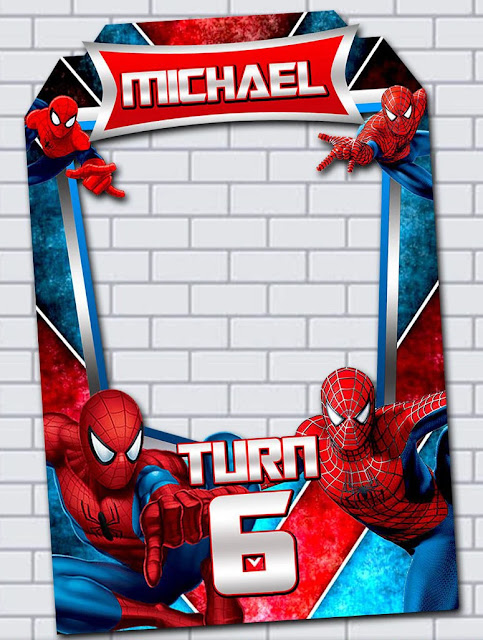 Spiderman Birthday Invitations