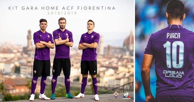 e77adecd021 Football teams shirt and kits fan: Font ACF Fiorentina 2018/19 Kits