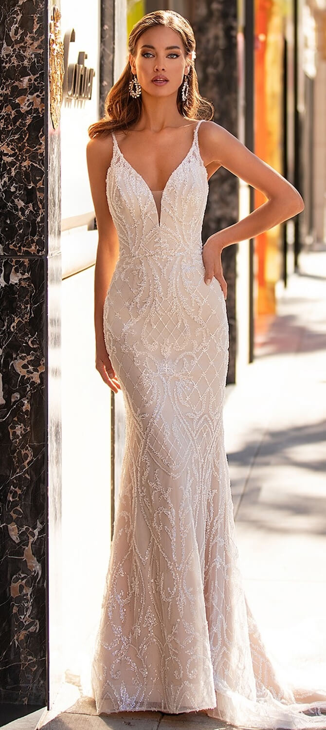 Moonlight Couture Fall 2020 Wedding Dresses - World of Bridal