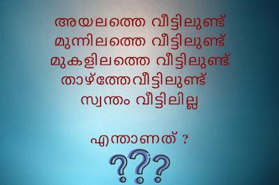 Kusruthi Chodyam with Answers 2020