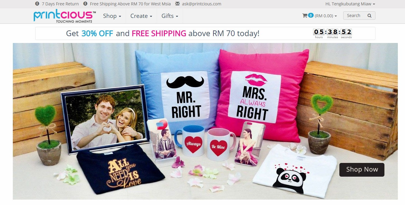 Printcious Com The Best Online Gift