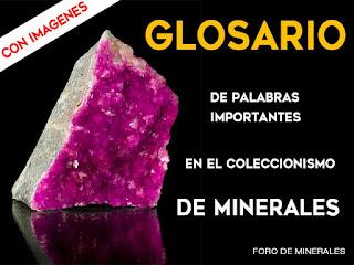 Glosario de minerales con imagenes - foro de minerales