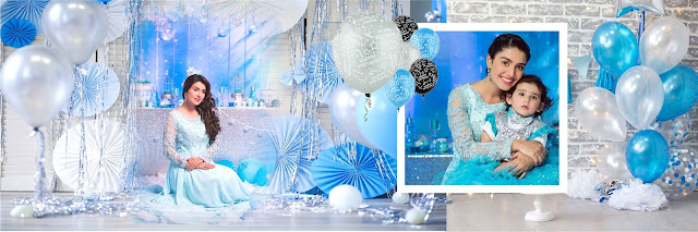 Birthday Album Psd 12x36  5 PSD Sheet Blue Free Download