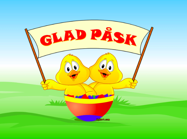 År 6: Glad Påsk!