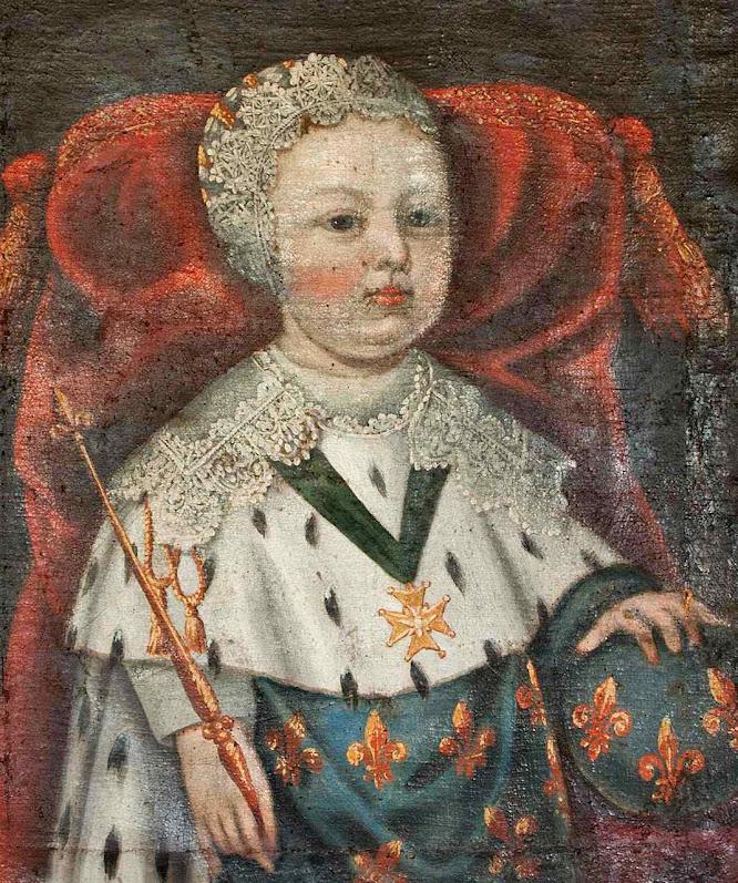 Luís XIV quando criança