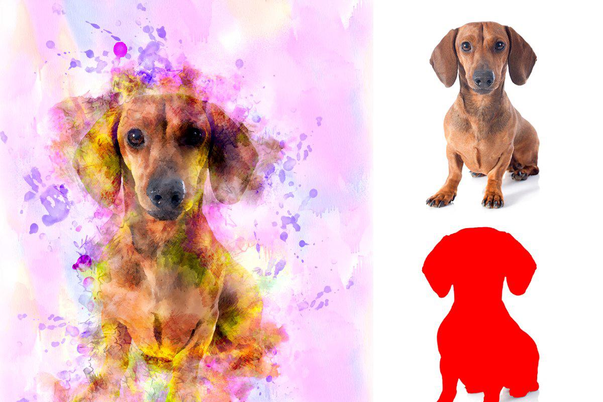 Watercolor Pro Photoshop Action 5070973
