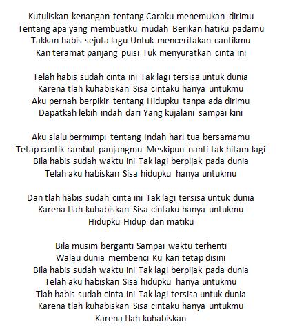 Lirik Lagu Virgoun Surat Cinta Untuk Starla Dunia Lirik