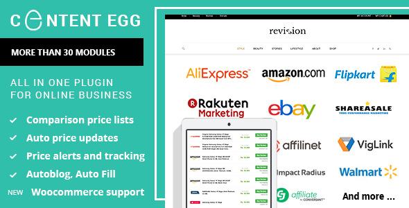 Content Egg v6.2.5 - all in one plugin for Affiliate, Price Comparison Download