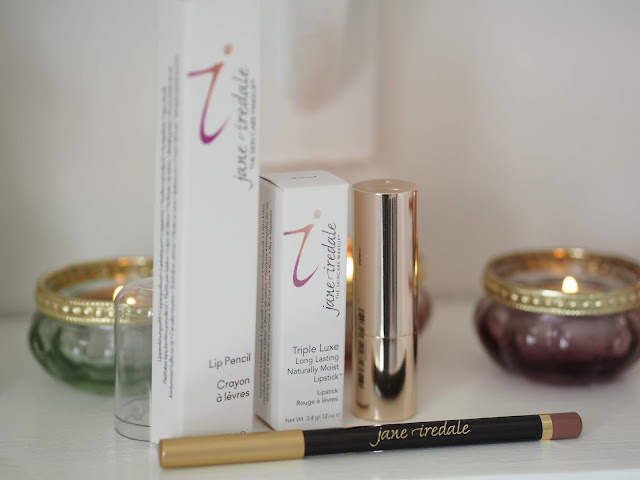 Jane Iredale Triple Luxe Lipstick + Lip Pencil