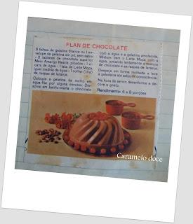 Receitas antigas do leite condensado Caramelo doce