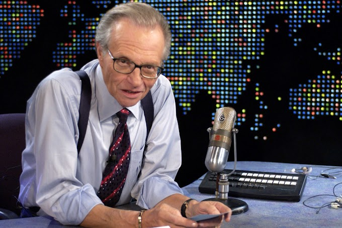 NEWS: Talk show host, Larry King dies at 87 weeks after testing positive for COVID-19