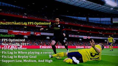 اقوي اداء لازالة اللاج من بيس 17 و زيادة معدل الاطارات في اللعبة || Anti Lag FPS Optimized V2